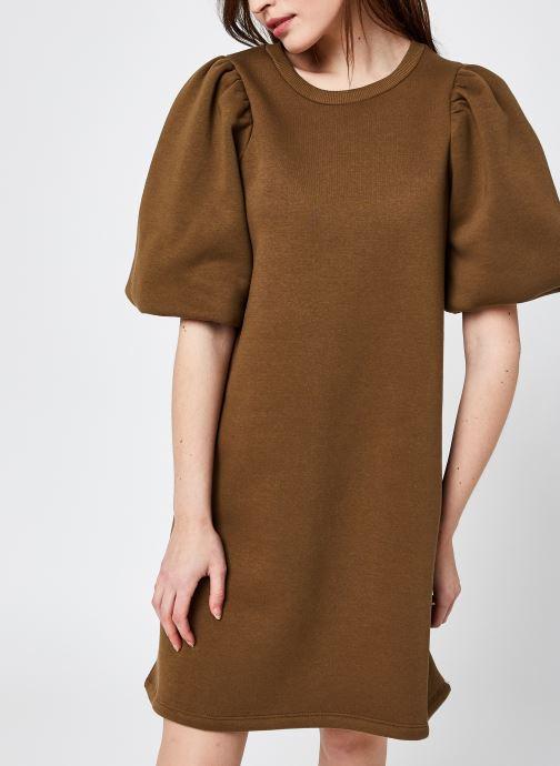 Kleding Y.A.S Yasmanu 2/4 Sweat Dress - Ca Bruin detail