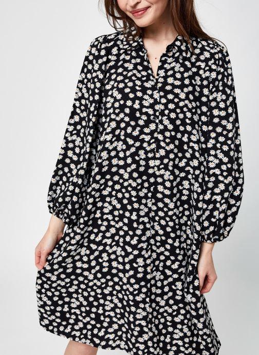 Vêtements Y.A.S Yasmargu 7/8 Shirt Dress - D2D Noir vue détail/paire
