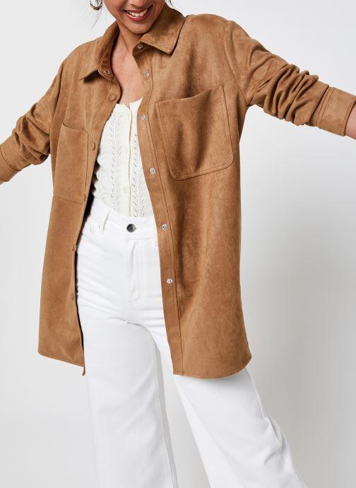 Kleding Accessoires Vmboostdebbie Faux Suede Jacket