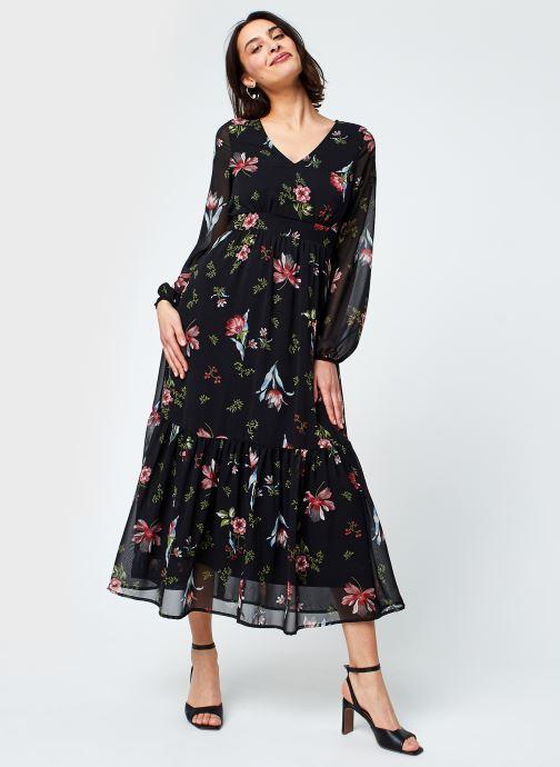 Vêtements Vero Moda Vmpetra L/S Ancle Dress Exp Ga Noir vue bas / vue portée sac