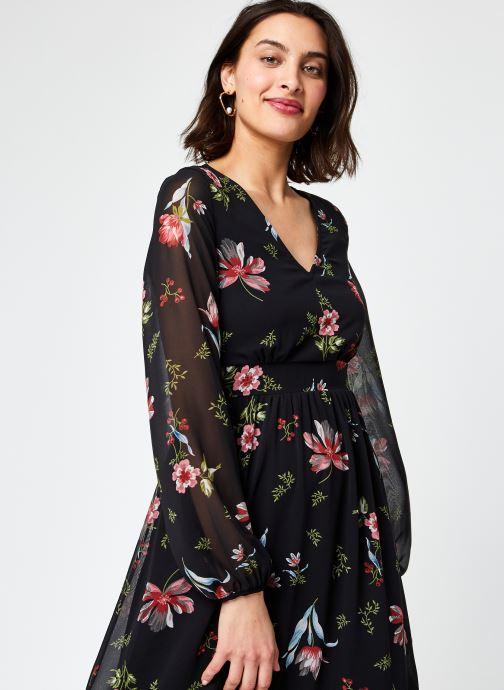 Vêtements Vero Moda Vmpetra L/S Ancle Dress Exp Ga Noir vue droite