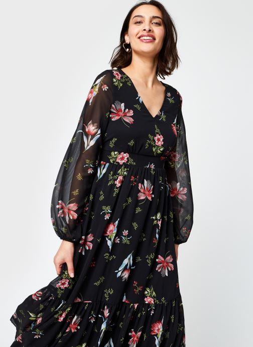 Vêtements Vero Moda Vmpetra L/S Ancle Dress Exp Ga Noir vue détail/paire