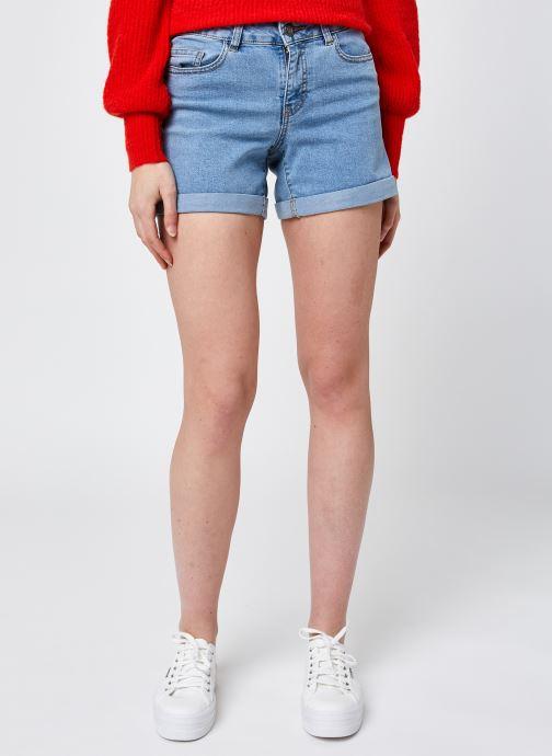 Vêtements Noisy May Nmbe Lucy Nr Den Fold Shorts Gu818 S* Bleu vue détail/paire