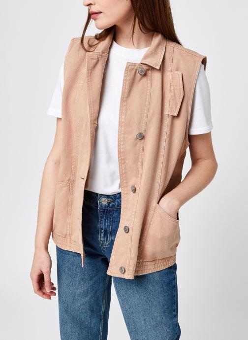 Abbigliamento Accessori Nmlulu S/L Denim Vest Clr Bg