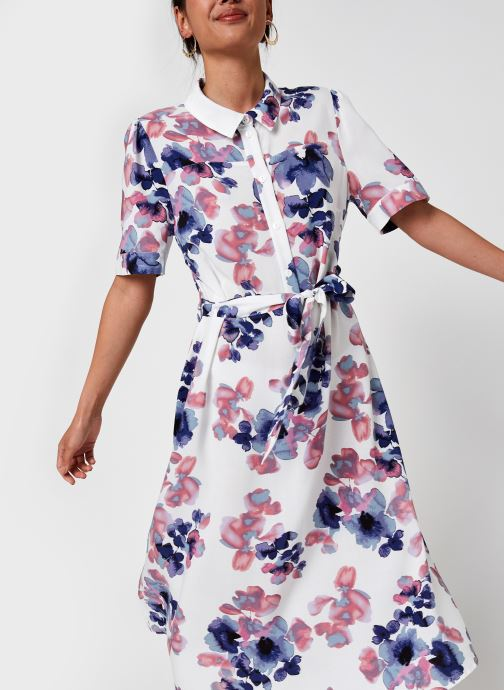 Kleding Vila Viala Midi L/S Dress/Ka/Su Multicolor detail