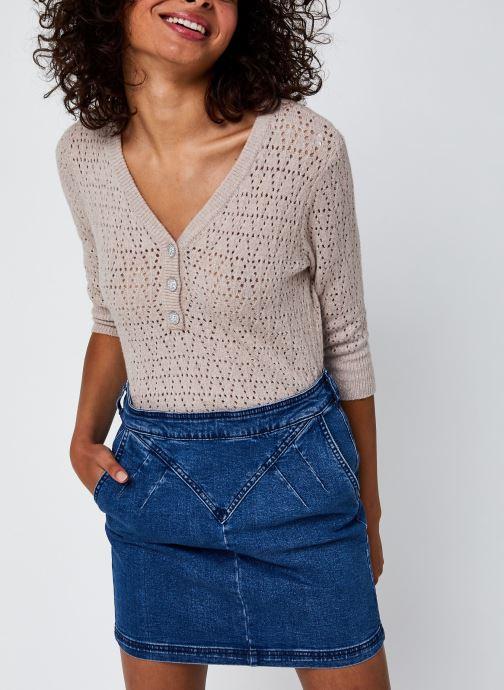 Vêtements Accessoires Vialassa 3/4 Sleeve Pointelle Knit Top