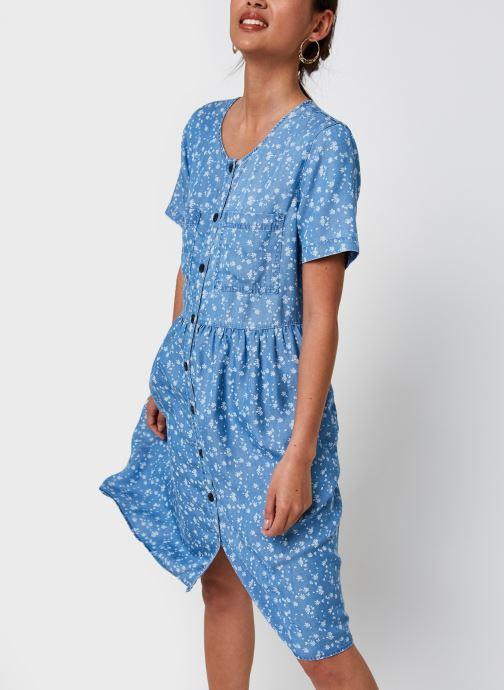 Vêtements Vila Viflikka S/S Dress/Su Bleu vue détail/paire