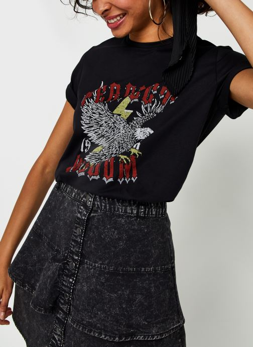 Kleding Vila Vitessa S/S T-Shirt/Su Zwart detail