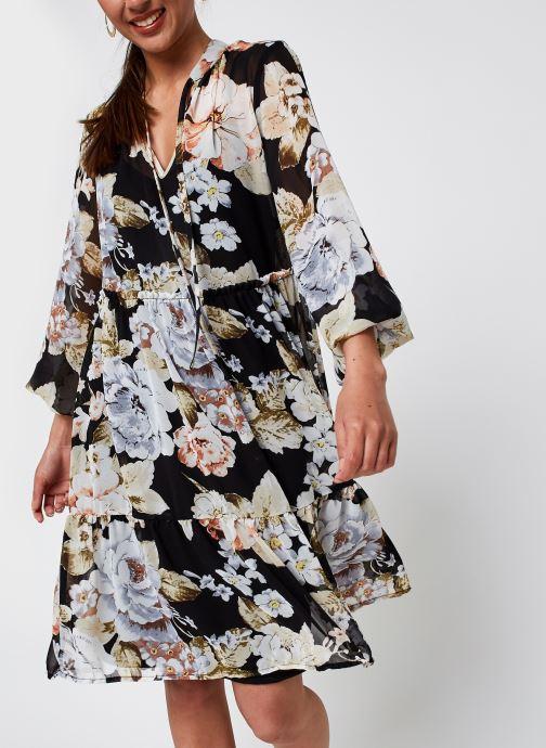 Kleding Vila Vitullan L/S Dress/Su Zwart detail