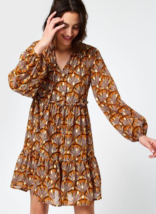 Vêtements Vila Vitullan Zino L/S Dress/1 Marron vue détail/paire