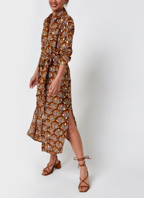 Vêtements Vila Vizino L/S Midi Shirt Dress/1 Marron vue bas / vue portée sac