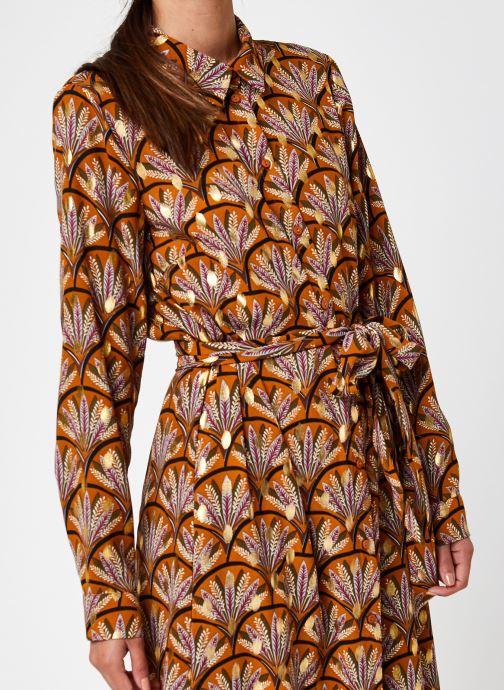 Vêtements Vila Vizino L/S Midi Shirt Dress/1 Marron vue face