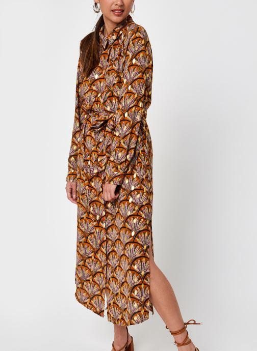 Vêtements Vila Vizino L/S Midi Shirt Dress/1 Marron vue droite