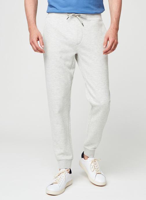 Vêtements Polo Ralph Lauren Double Knit Tech Pnt Gris vue détail/paire