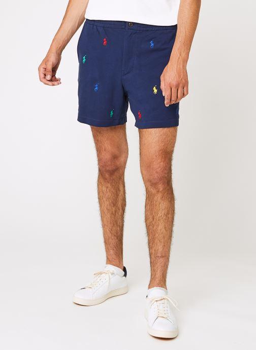 Vêtements Polo Ralph Lauren 20/1 Mesh Atl Bleu vue détail/paire