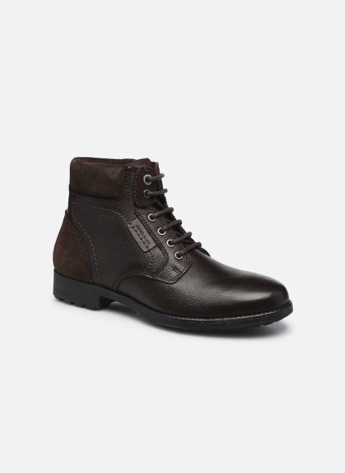 Boots en enkellaarsjes Heren JFW BURGESS MID LEATHER