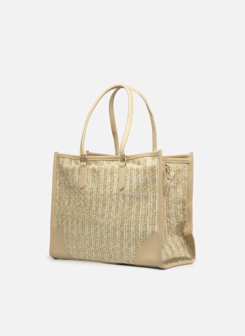 Handtaschen I Love Shoes LUCIANA beige schuhe getragen