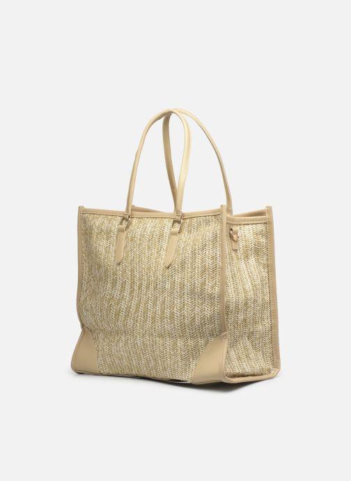 Handtaschen I Love Shoes LUCIANA beige ansicht von rechts
