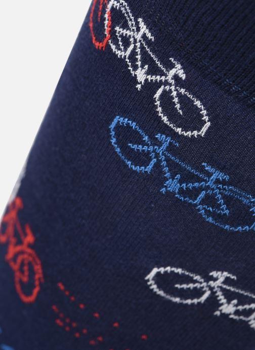 Calze e collant BLEUFORÊT Chaussettes Coton bicyclette Azzurro modello indossato
