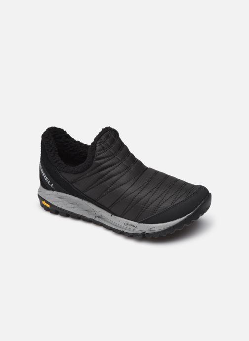 Chaussures de sport Merrell Antora Sneaker Moc Noir vue détail/paire