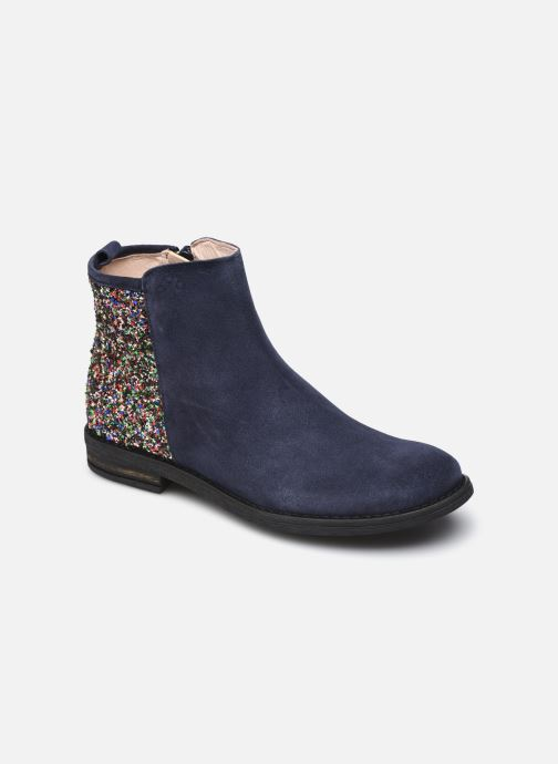 Boots en enkellaarsjes Acebo's 9917SU Blauw detail