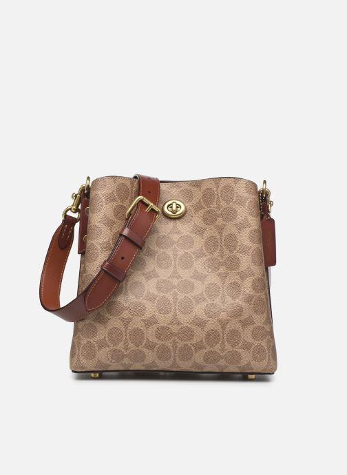 Handtaschen Coach Willow Bucket Bag 21 braun detaillierte ansicht/modell