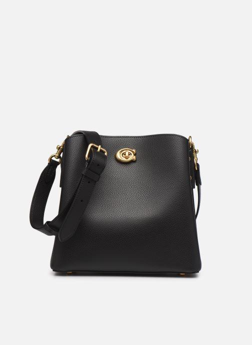 Handtaschen Coach Willow Bucket Bag 21 schwarz detaillierte ansicht/modell