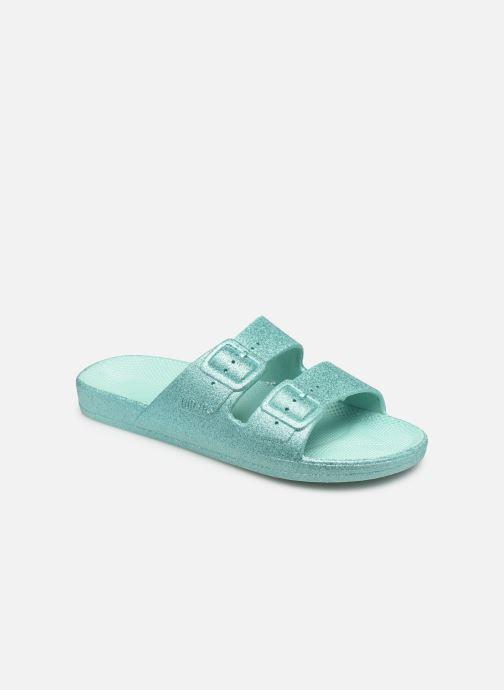 Clogs & Pantoletten Freedom Moses Glitters Oasis W blau detaillierte ansicht/modell