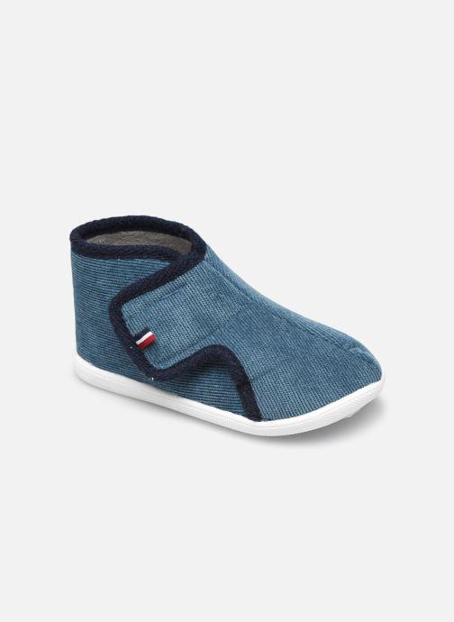 Pantofole Ti'Bossi Savignon Loop Br 9392 Azzurro vedi dettaglio/paio