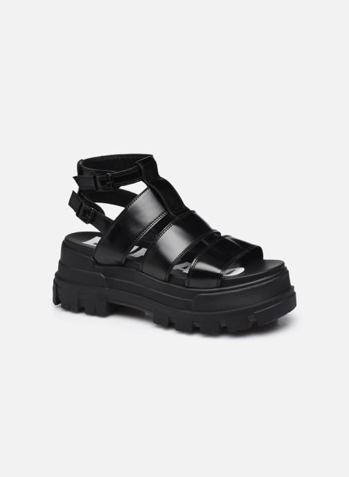 Sandales et nu-pieds Buffalo Aspha GLD Noir vue détail/paire