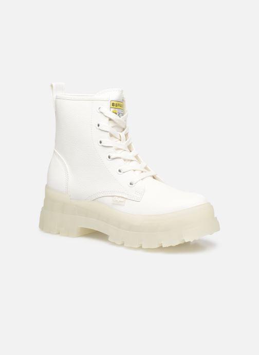 Bottines et boots Buffalo Aspha RLD Imi Nappa Blanc vue détail/paire