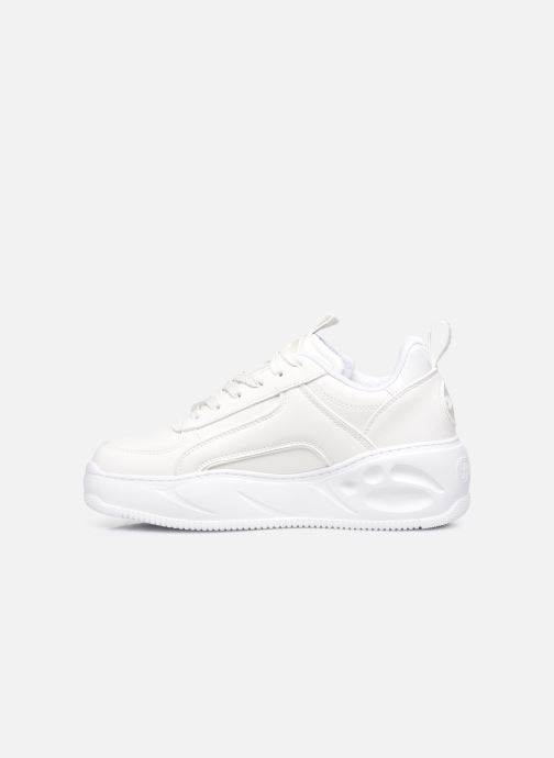 Sneakers Buffalo Flat Smpl 2.0 Imi Nappa Wit voorkant
