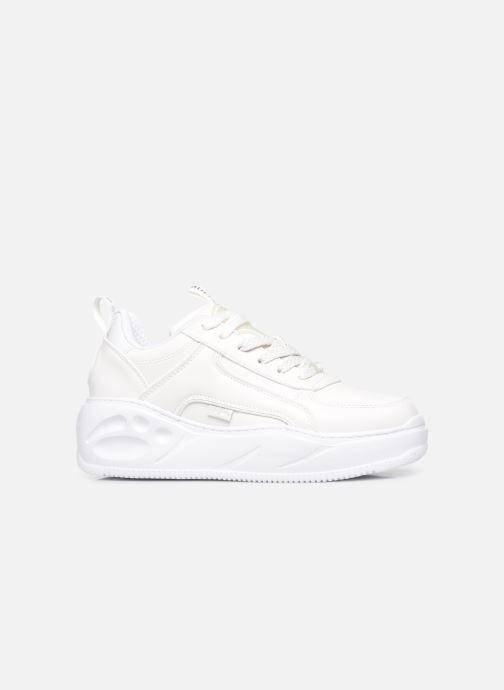 Sneakers Buffalo Flat Smpl 2.0 Imi Nappa Wit achterkant