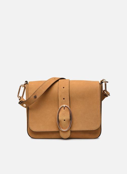 Handtaschen Vanessa Bruno Sac Iris Porte Epaule Gm En Suede braun detaillierte ansicht/modell
