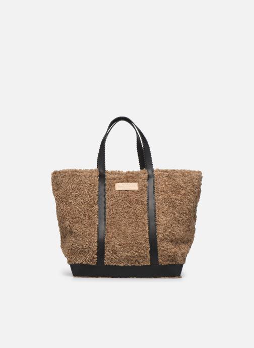 Handtaschen Taschen Cabas L En Shearling Et Cuir Lisse