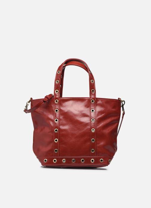 Handtaschen Vanessa Bruno Cabas S Bandouliere En Cuir Froisse rot detaillierte ansicht/modell