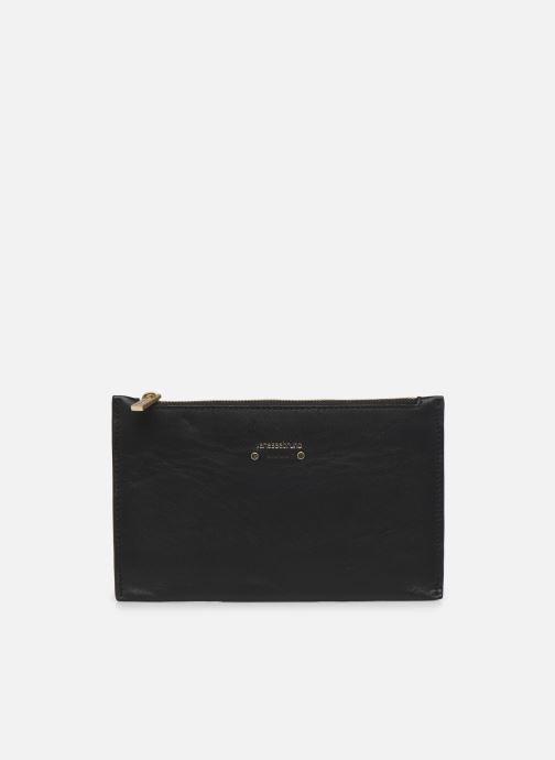 Portemonnaies & Clutches Vanessa Bruno Pochette Portefeuille Zip En Cuir schwarz detaillierte ansicht/modell