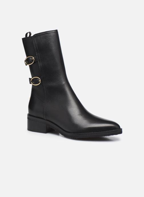 Boots en enkellaarsjes Vanessa Bruno Bottines Boucles 45Mm En Cuir Vegetal Zwart detail