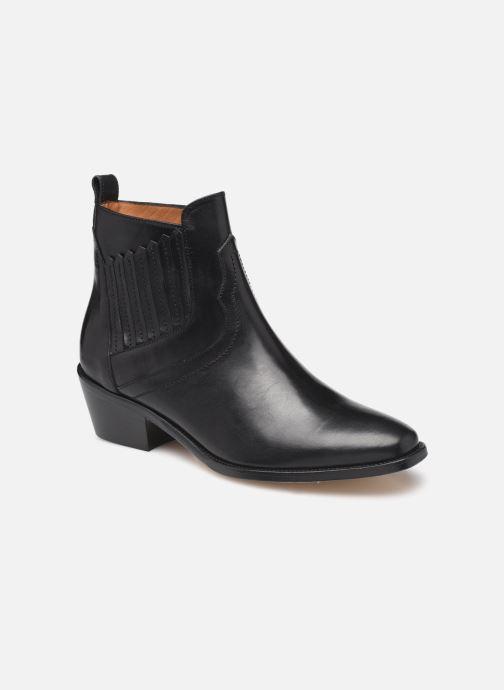 Bottines et boots Femme Bottines Santiag En Cuir Vegetal