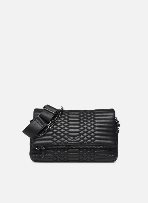 Sacs à main Zadig & Voltaire Rocky Mat Bag Noir vue détail/paire
