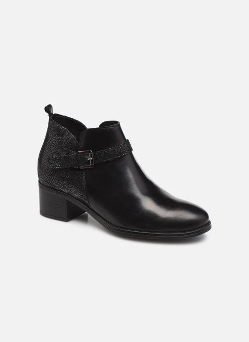 Bottines et boots Georgia Rose Soft Luka Noir vue détail/paire