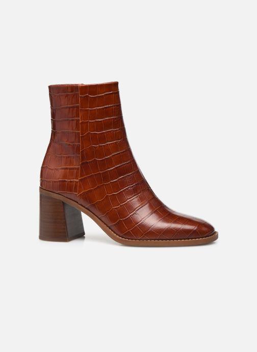 Bottines et boots Made by SARENZA Modern 50's Boots #18 Marron vue détail/paire