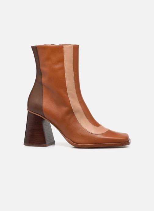 Bottines et boots Made by SARENZA Modern 50's Boots #8 Marron vue détail/paire