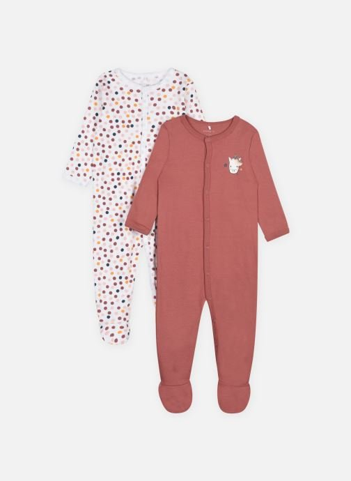 Kleding Accessoires Nbfnightsuit 2P W/F Withered Rose Noos