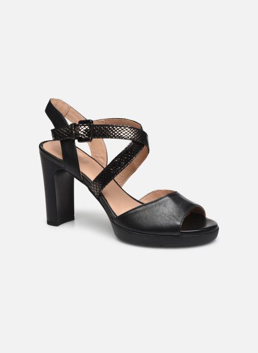 Sandalen Geox D ANNYA HIGH SANDAL schwarz detaillierte ansicht/modell