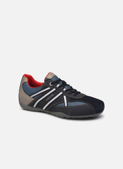 Sneakers Geox U RAVEX Blauw detail