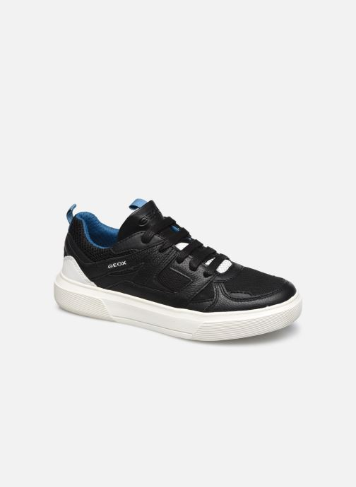Sneakers Geox J Nettuno Boy J02AWD Zwart detail