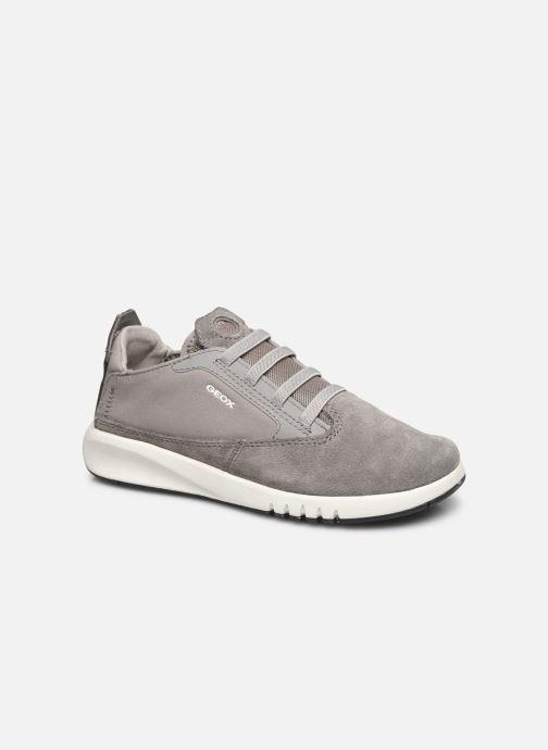 Sneakers Geox J Aeranter Boy J02BNB Grijs detail