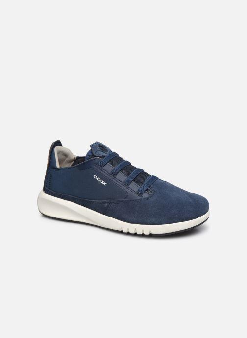Sneakers Geox J Aeranter Boy J02BNB Blauw detail