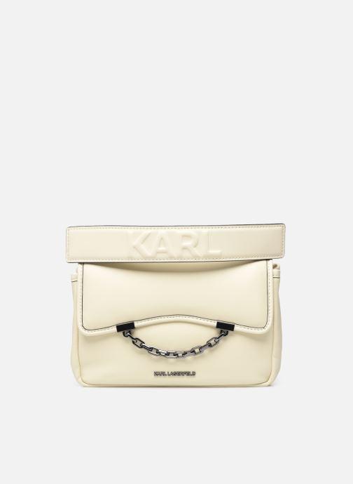 Handtassen Karl Lagerfeld K/Karl Seven Soft Shoulderbag Wit detail